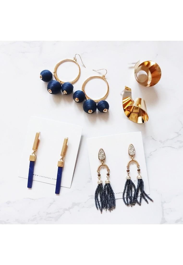 Tassiana Marble Earrings