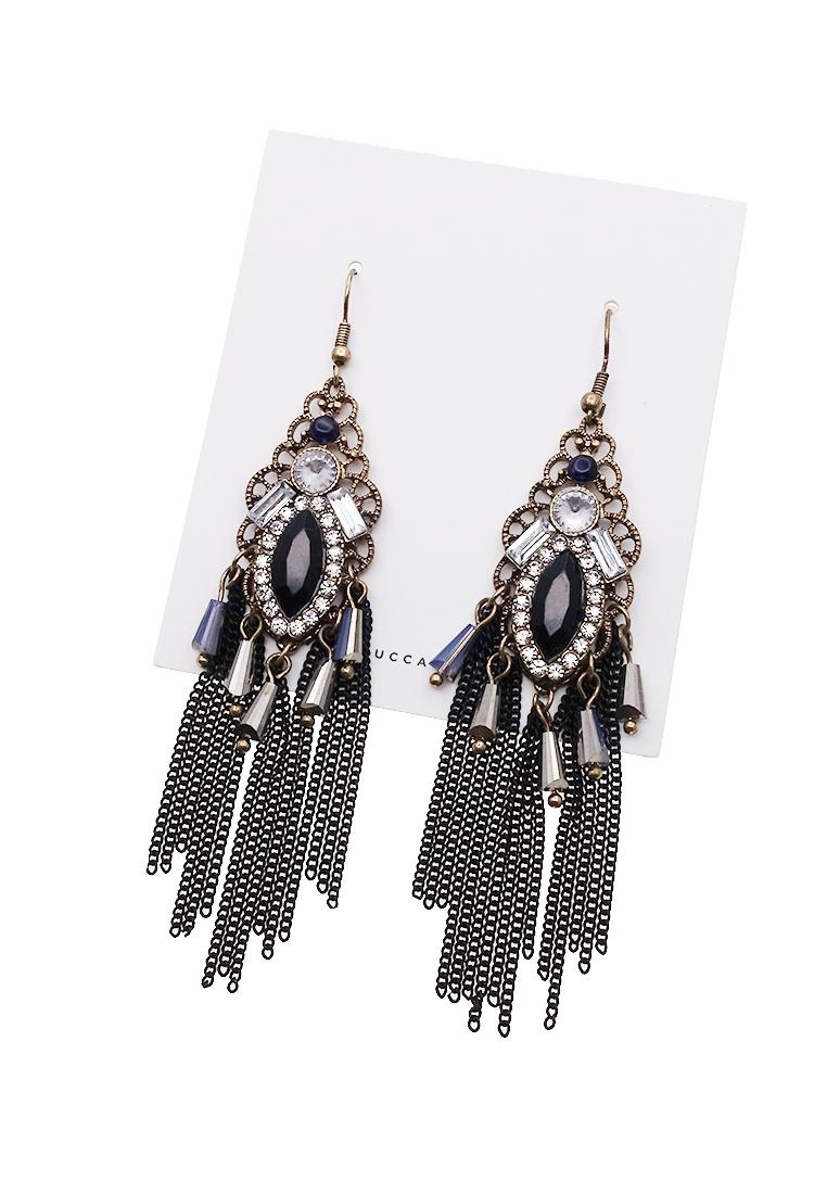 Baroque Filigree Tassel Earrings