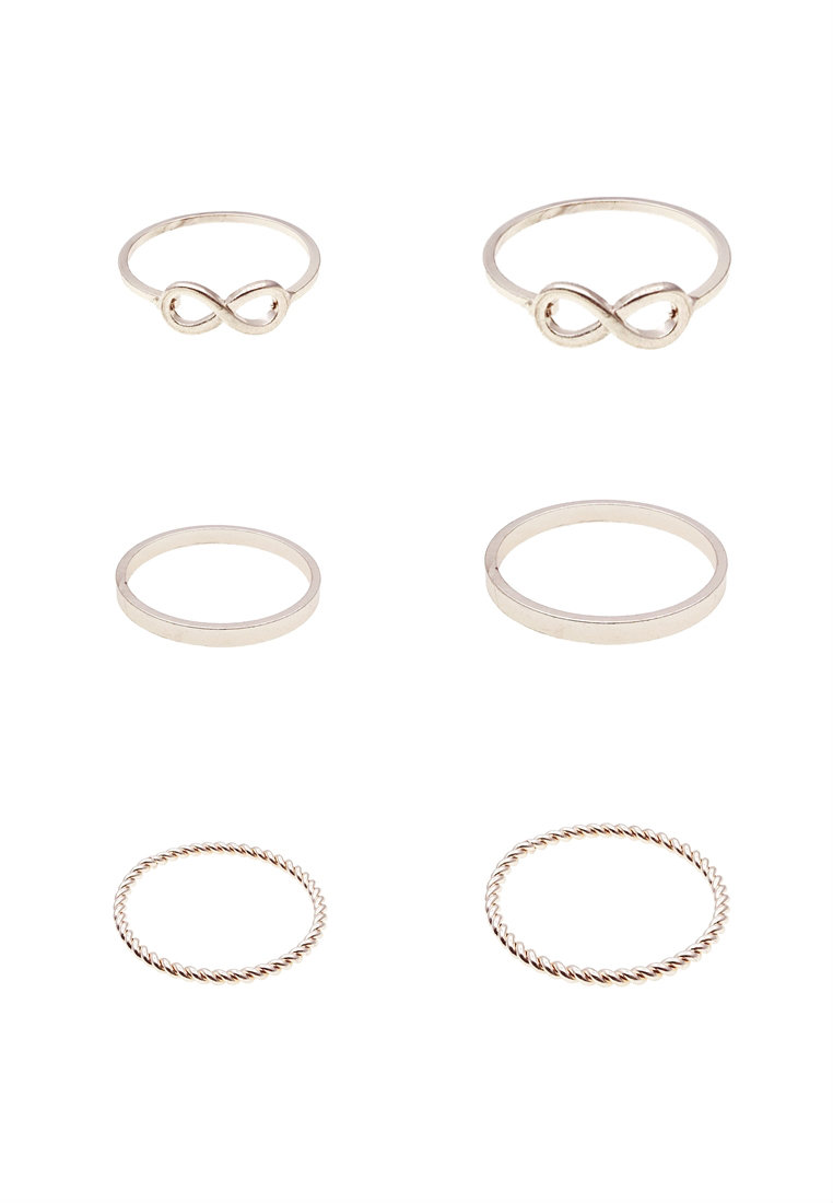 6 x Shashi Rings Set