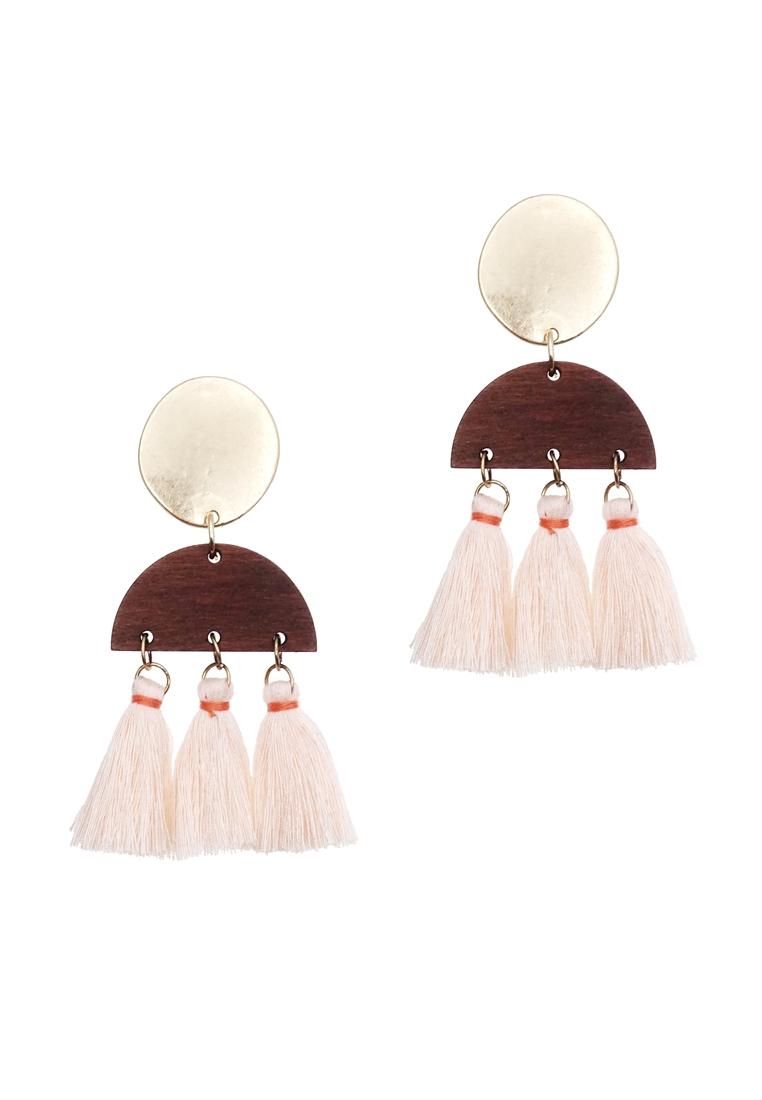 Lual Tassel Earrings