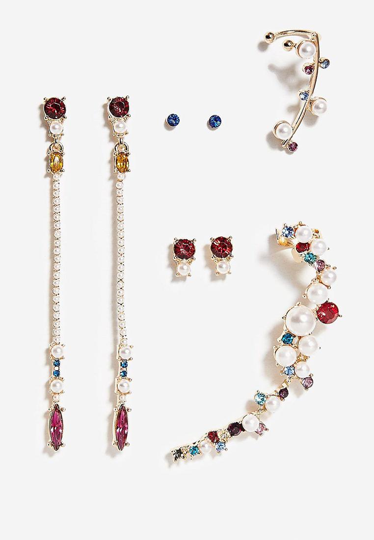 5 x Elysian Earrings Set