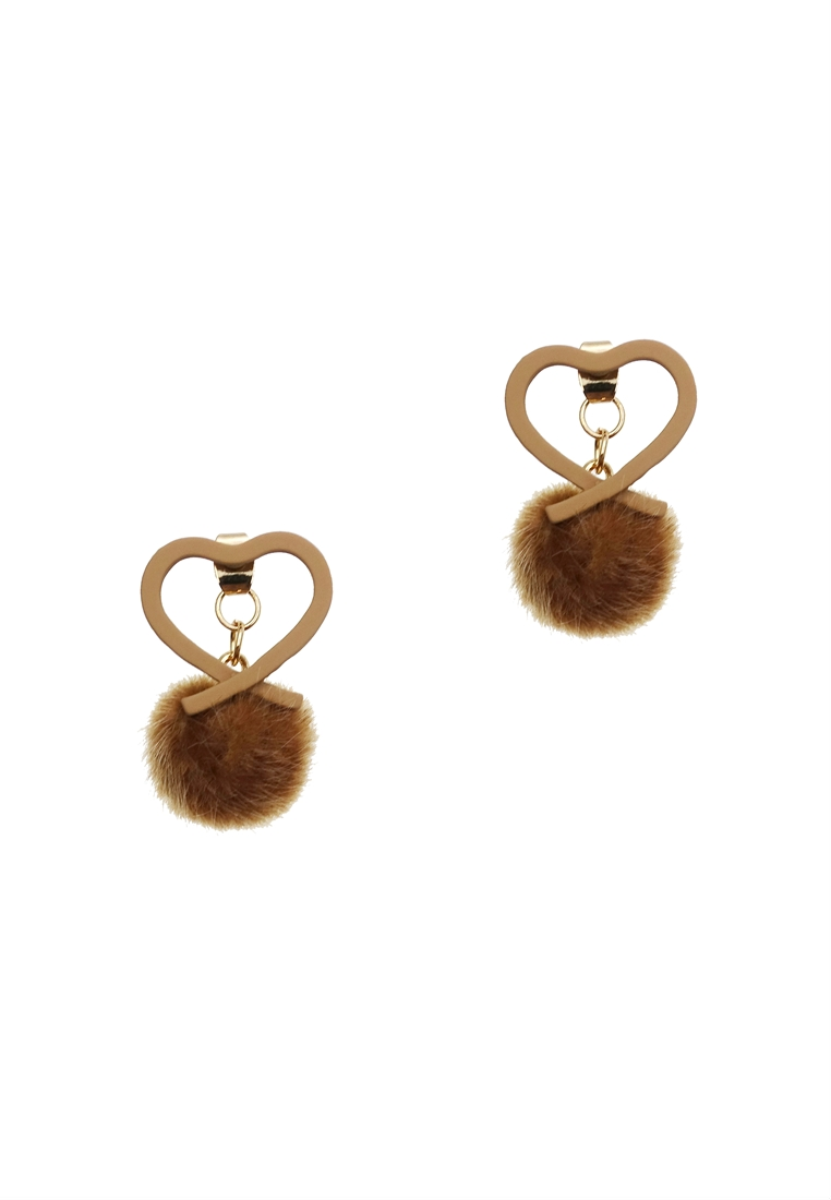 Fifi Love Pom Pom Earrings