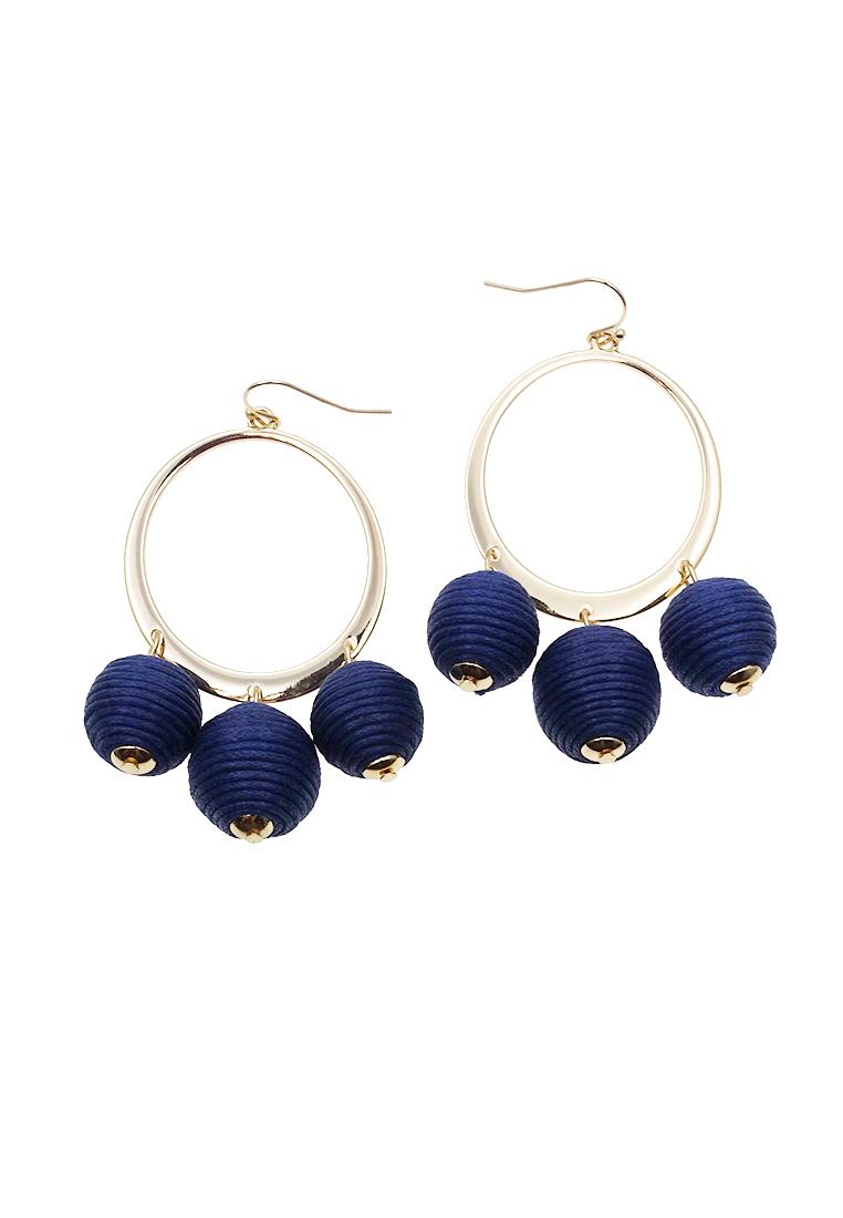 Corsica Pom Pom Earrings