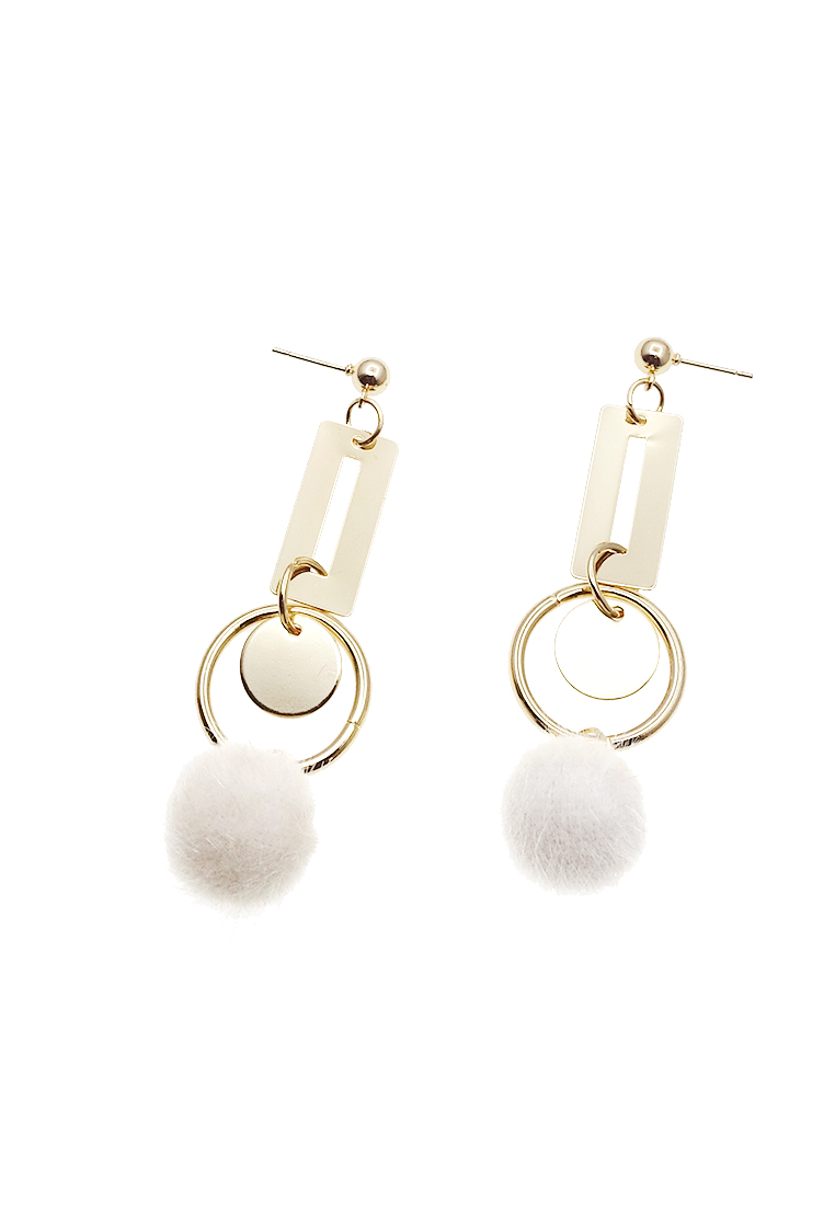 Melina Pom Poms Earrings