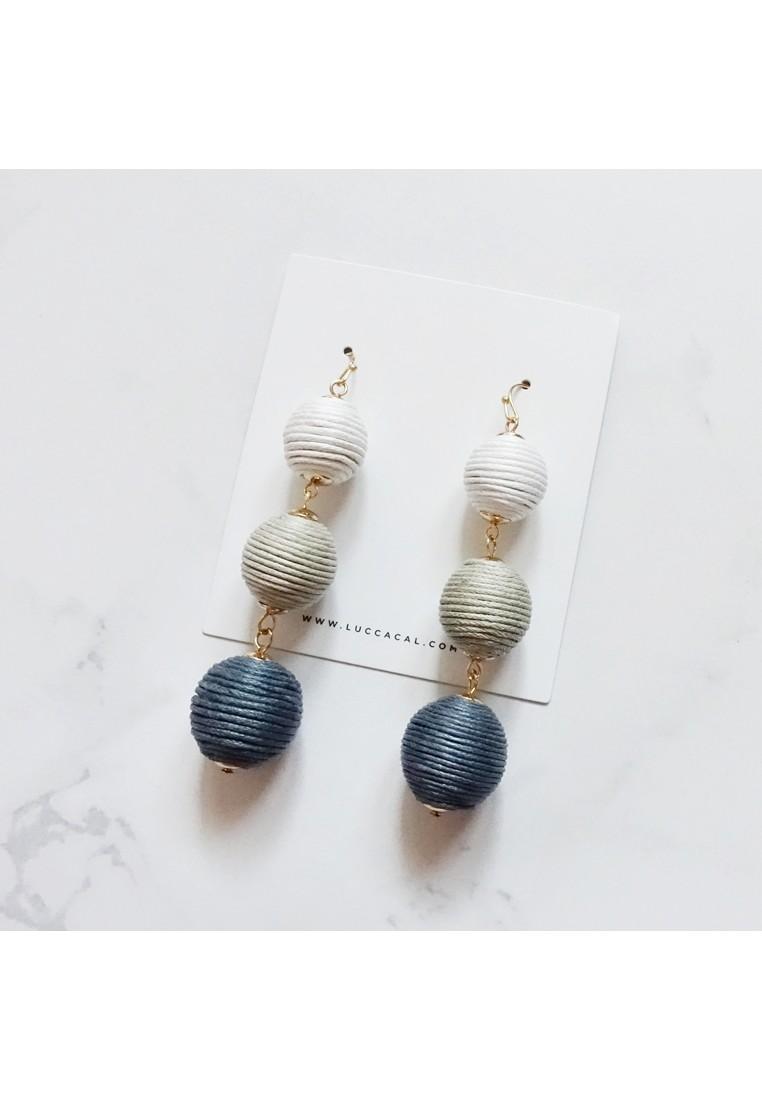 Solange Pom Pom Earrings