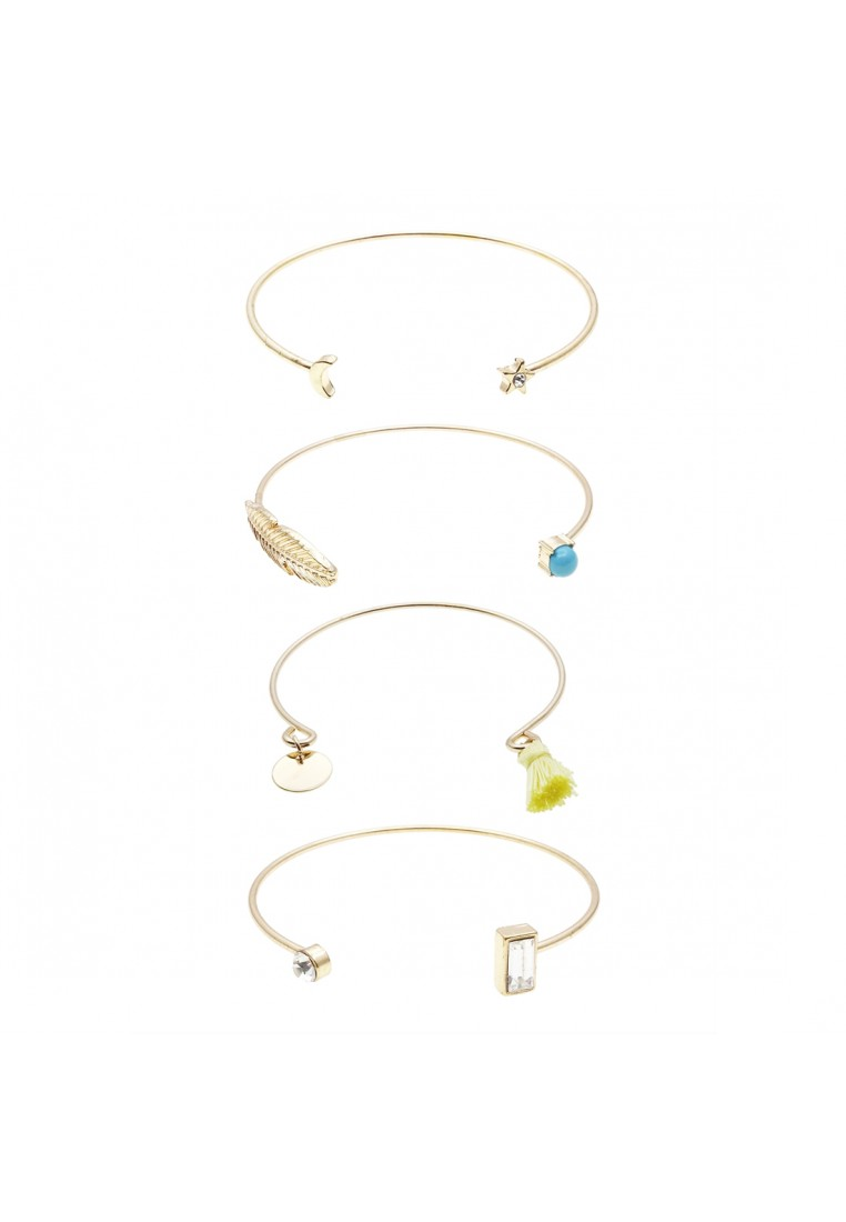 VALUE PACK: 4 x Assorted Cuff Bracelets