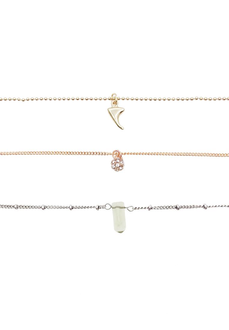 3 x Cher Bracelet Set