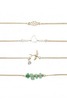 4 x Peretti Charm Bracelet