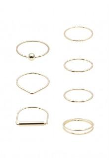 7 x Minimal Ring Set