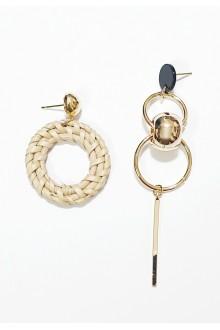 Tanya Rattan Mismatched Earrings