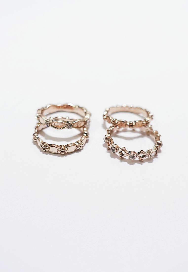 9 x Ralevia Ring Set