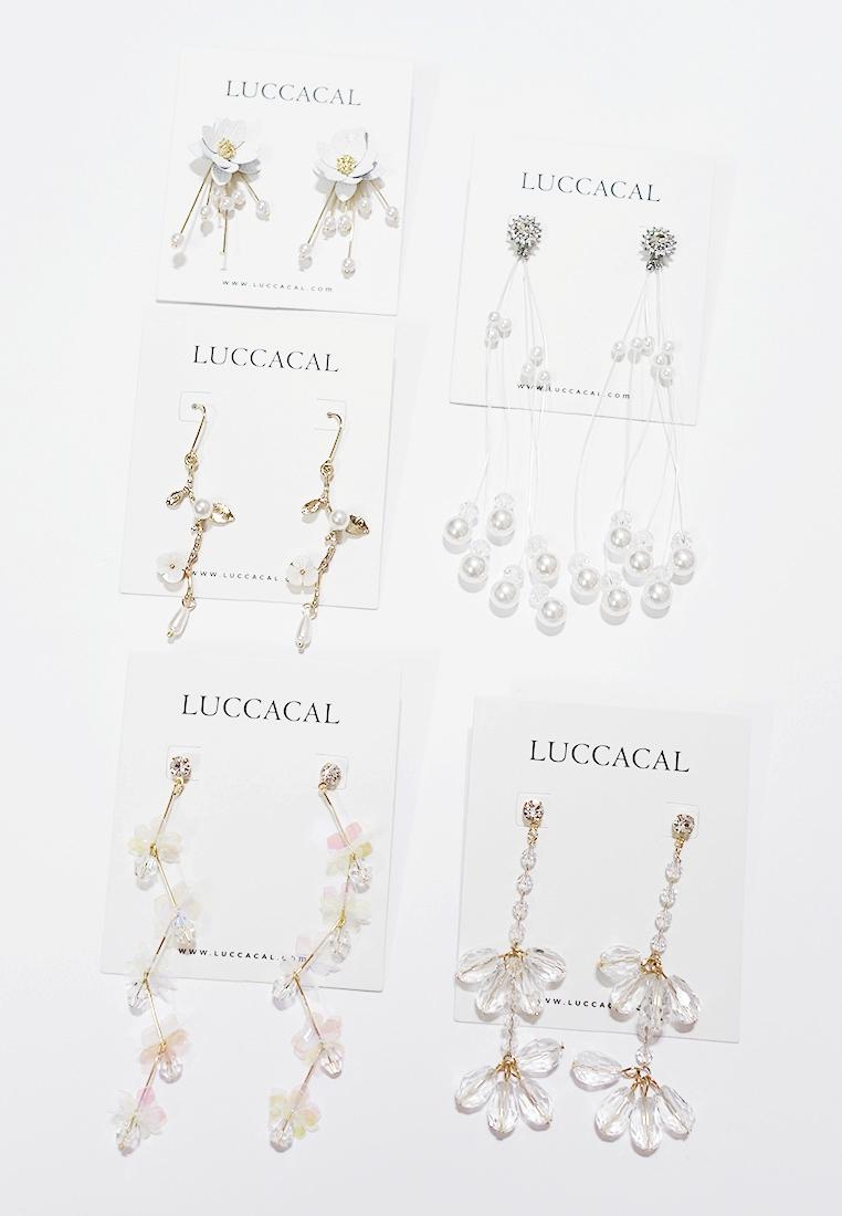 Vincyl Flower Earrings