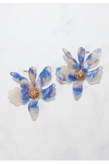 Lucia Flower Earrings  (S925 Post)