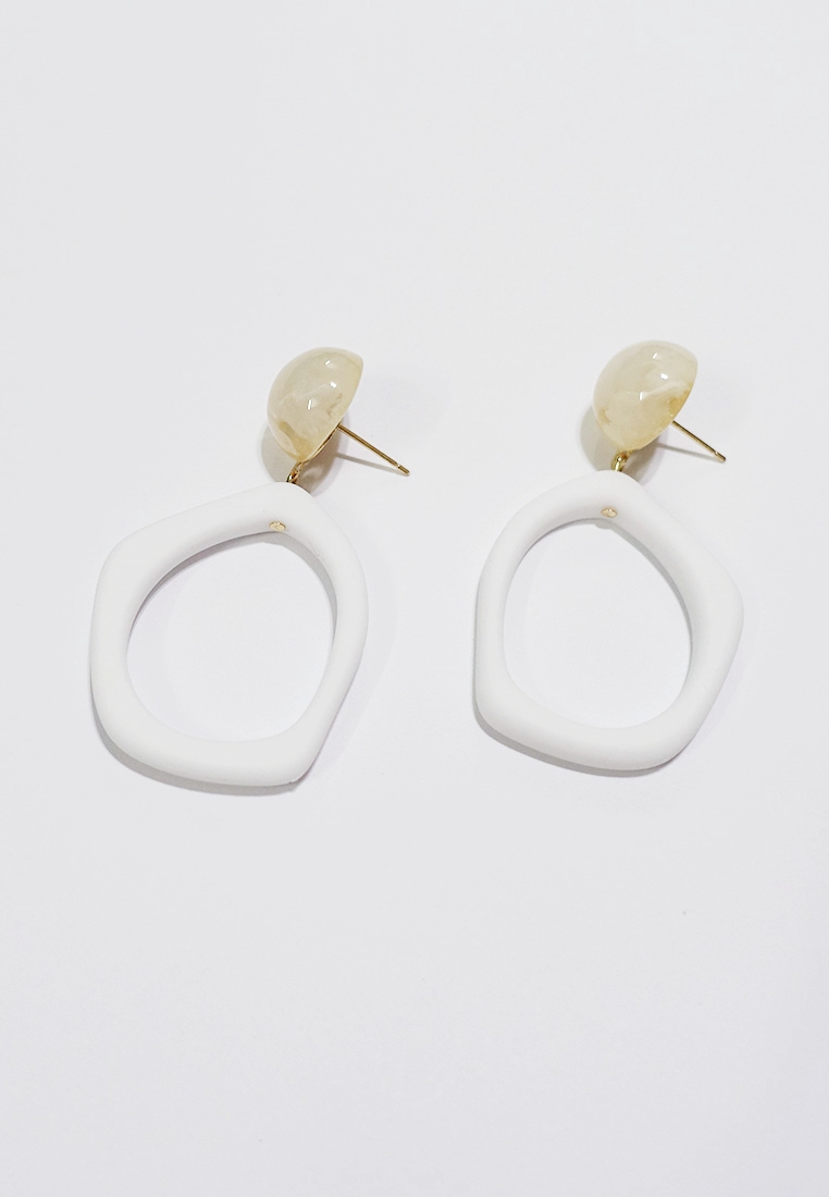 Marlee Geo Drop Earrings