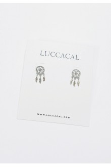 Dreamcatcher Stud Earrings (S925 Post)