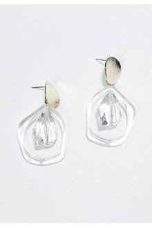 Clear Lucid Earrings (S925 Post)