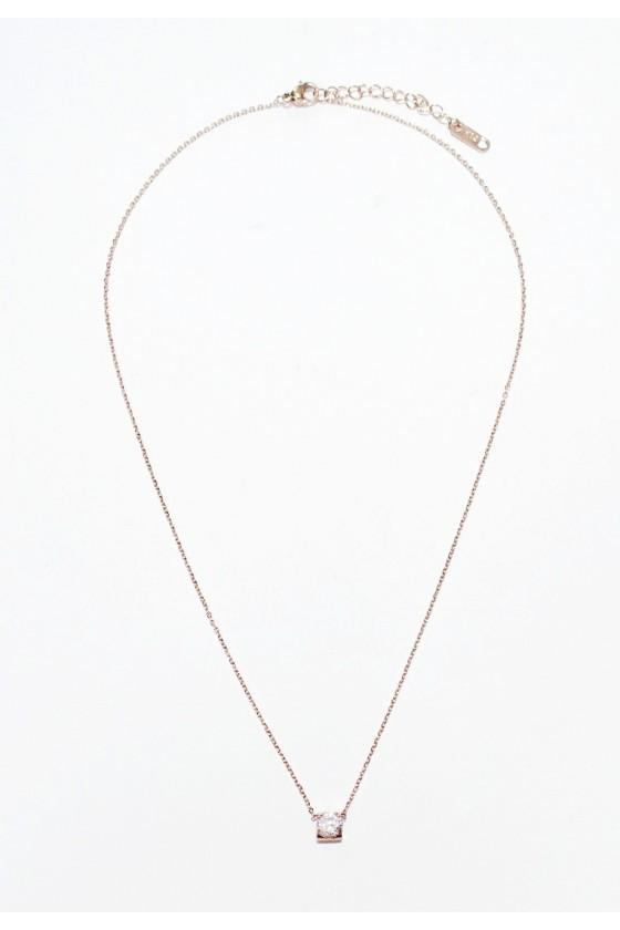 Rhinestone Delicate Chain Necklace