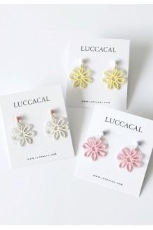 Cutout Flower Earrings
