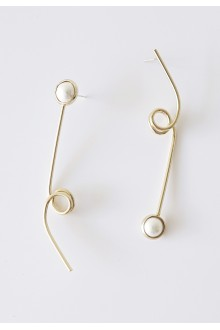 Ashley Asymmetric earrings (S925 Post)
