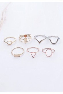 7 x Trina Ring Set