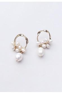Nina Baroque Pearl Earrings