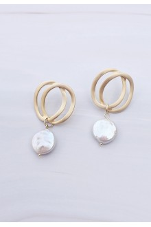 Dreslyn Freshwater Pearl Earrings