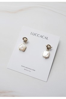 Annette Knot Pearl earrings