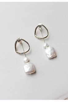 Lorrie Pearl Drop Earrings