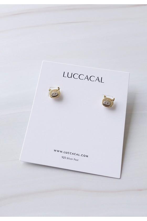 Mini Zhu Stud Earrings