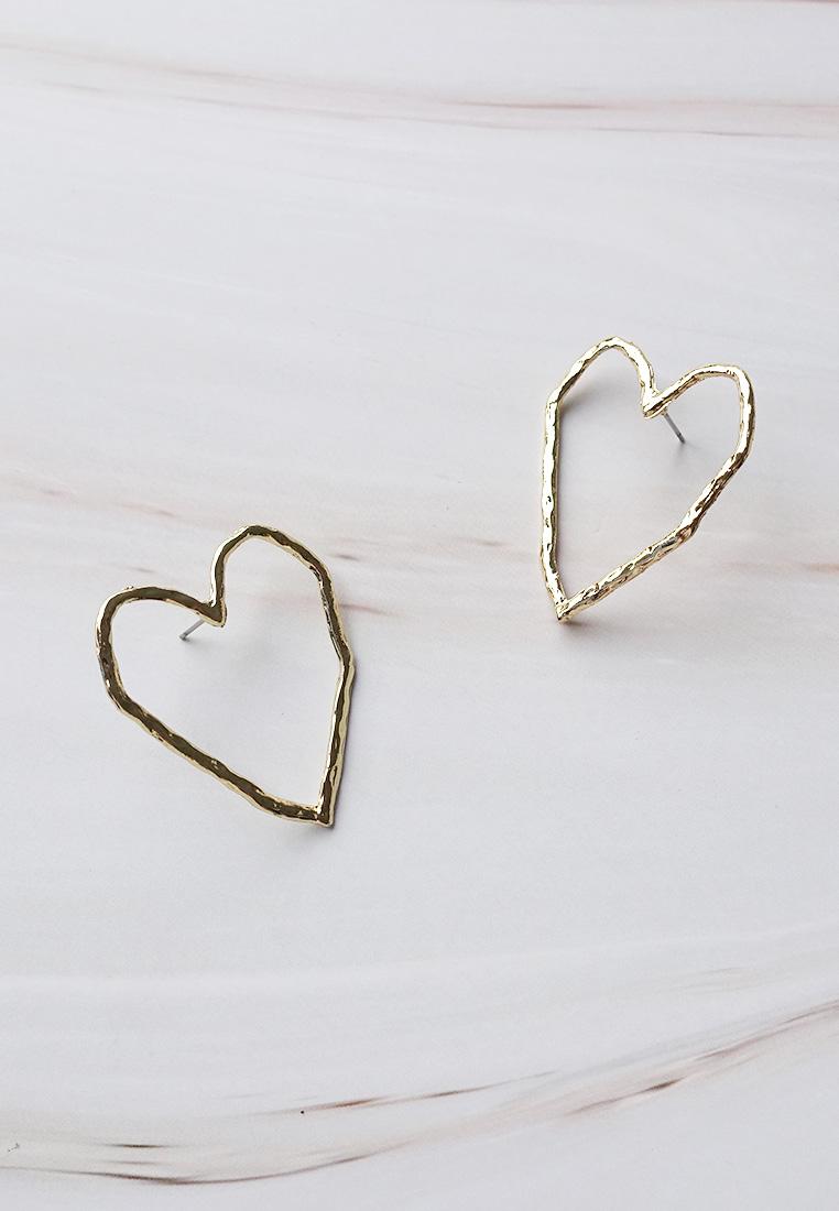 Oversized Love Earring