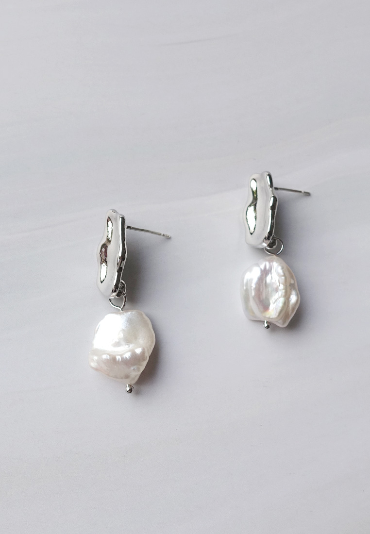 Patrice Baroque Pearl Earrings