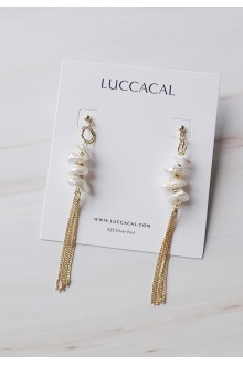 Freshwater Pearl Tassel Earrings