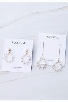 Lele Floral Thread-Through Earrings
