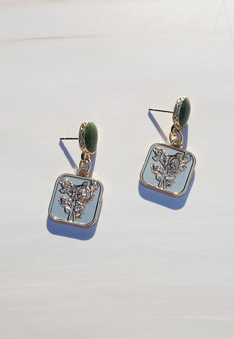 L'Amour de Paris Coin Earrings