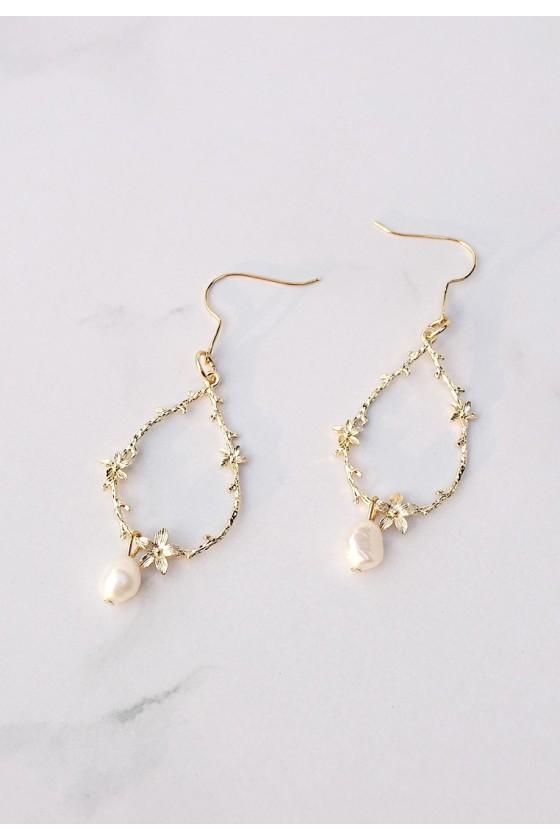Pearl Wreath Earrings