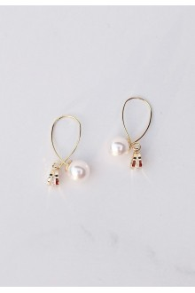 Taron Pearl Earrings