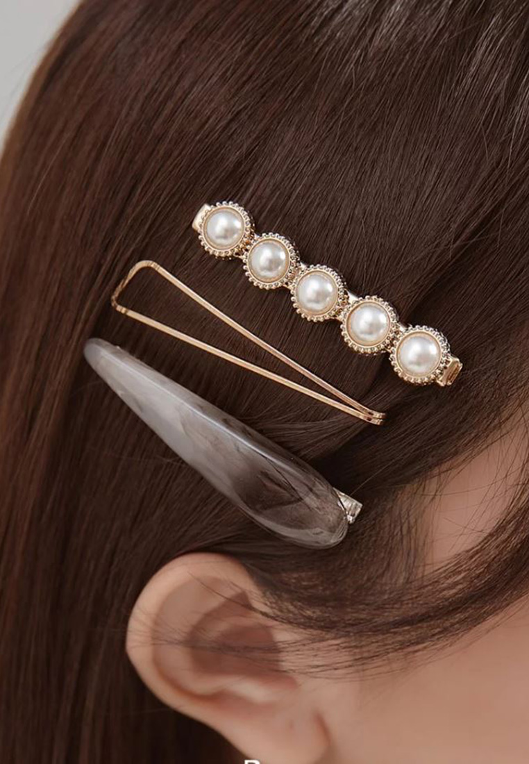 Kelly Resin Hair Clip