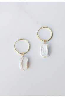 Luna Keshi Pearl Earrings