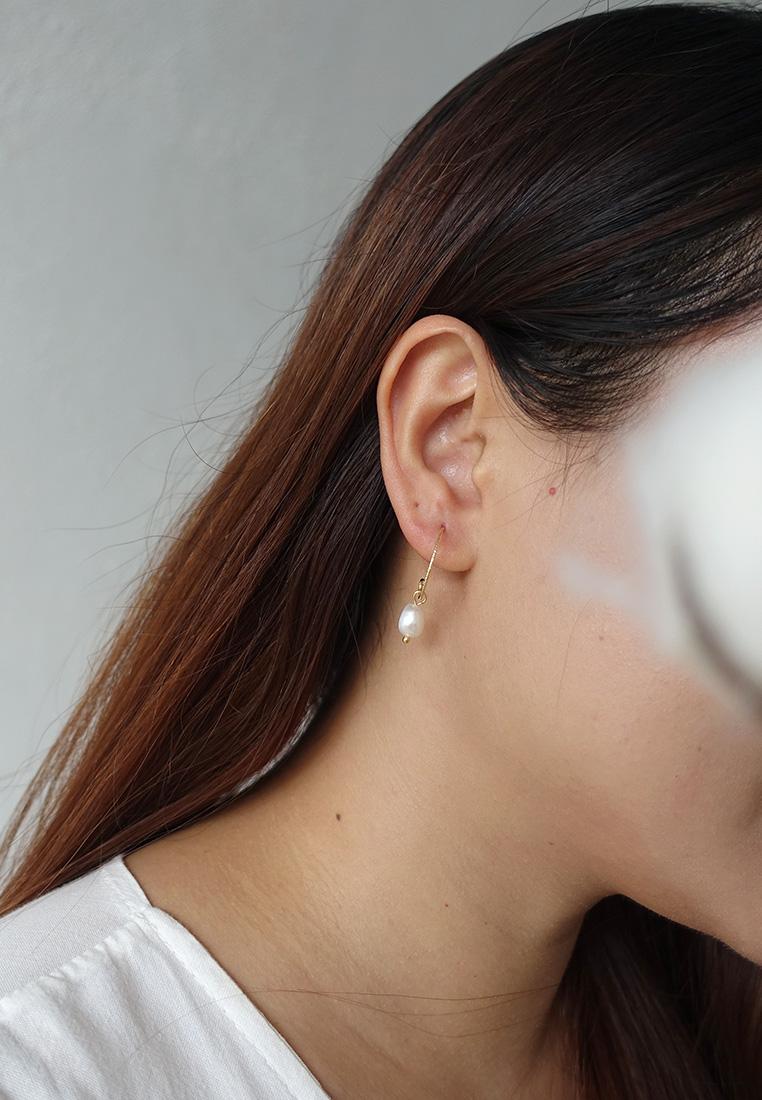 Petite Grand Rococo Pearl Earrings