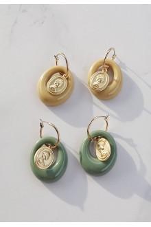 Natasha Coin Earrings