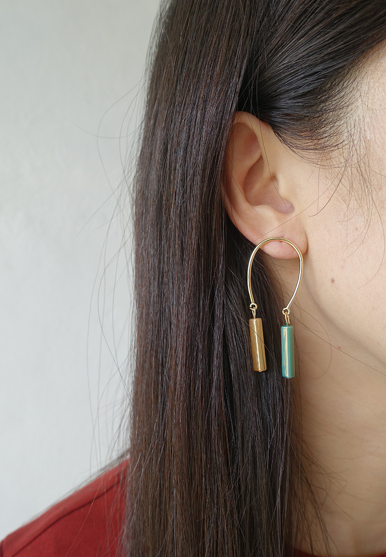 Morandi Iridescent Earrings