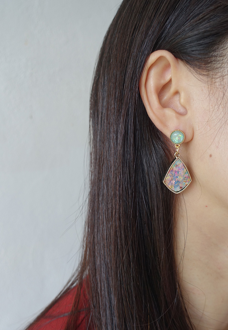 Marlene Iridescent  Earrings