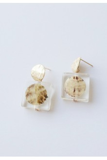 Teresa Shell Earrings