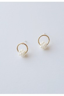 Samira Mini Pearls Earrings