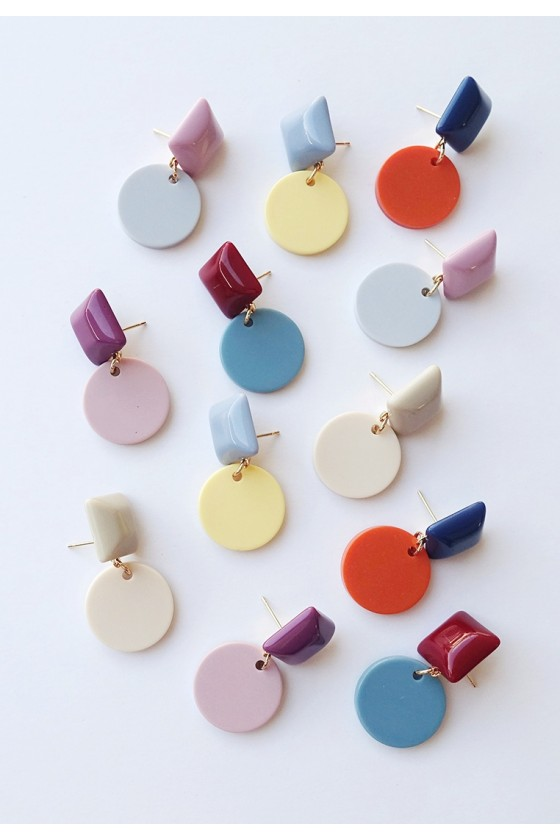 Kay Colourblock Earrings