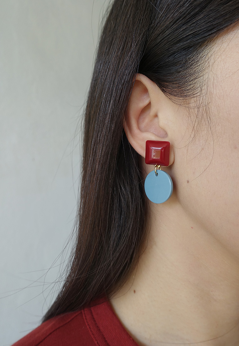 Kay Colourblock Earrings