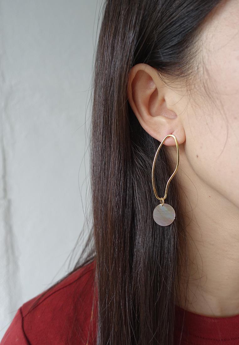 Kiera Shell Earrings