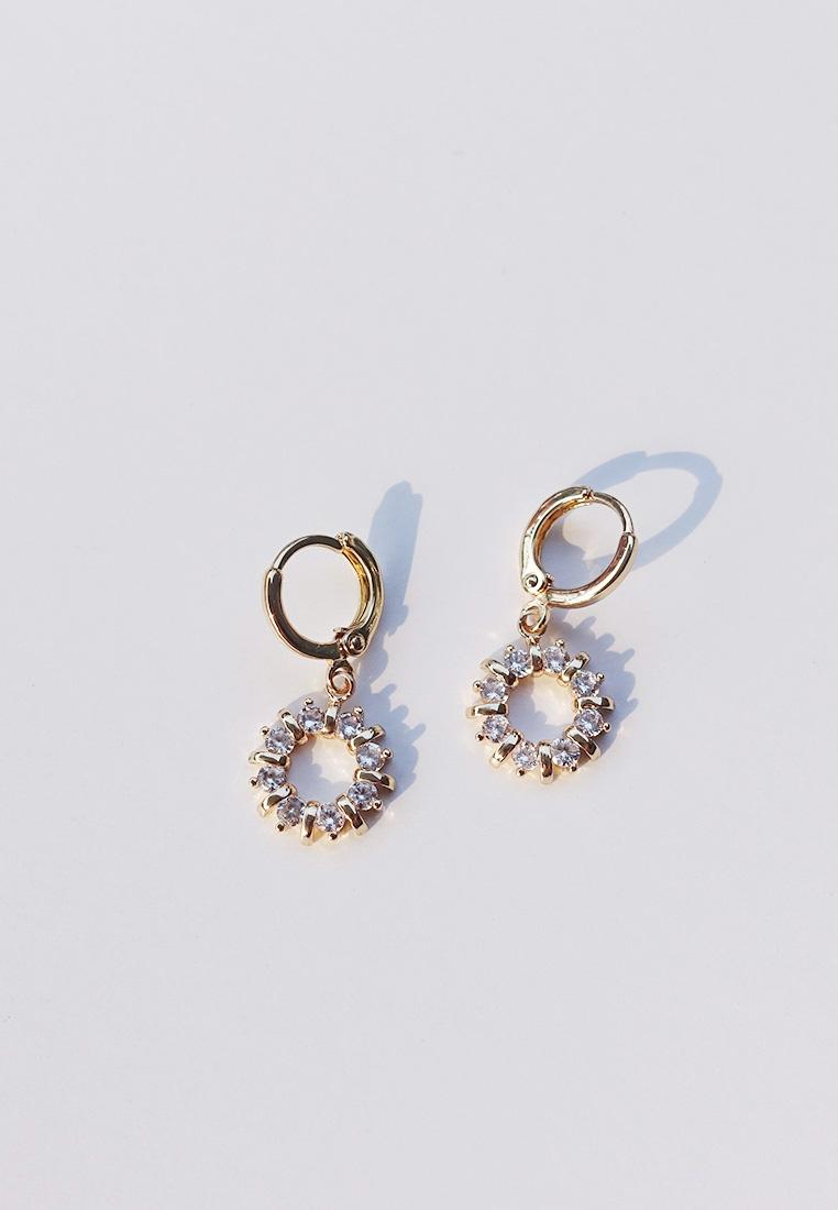 Anise Huggie Earrings