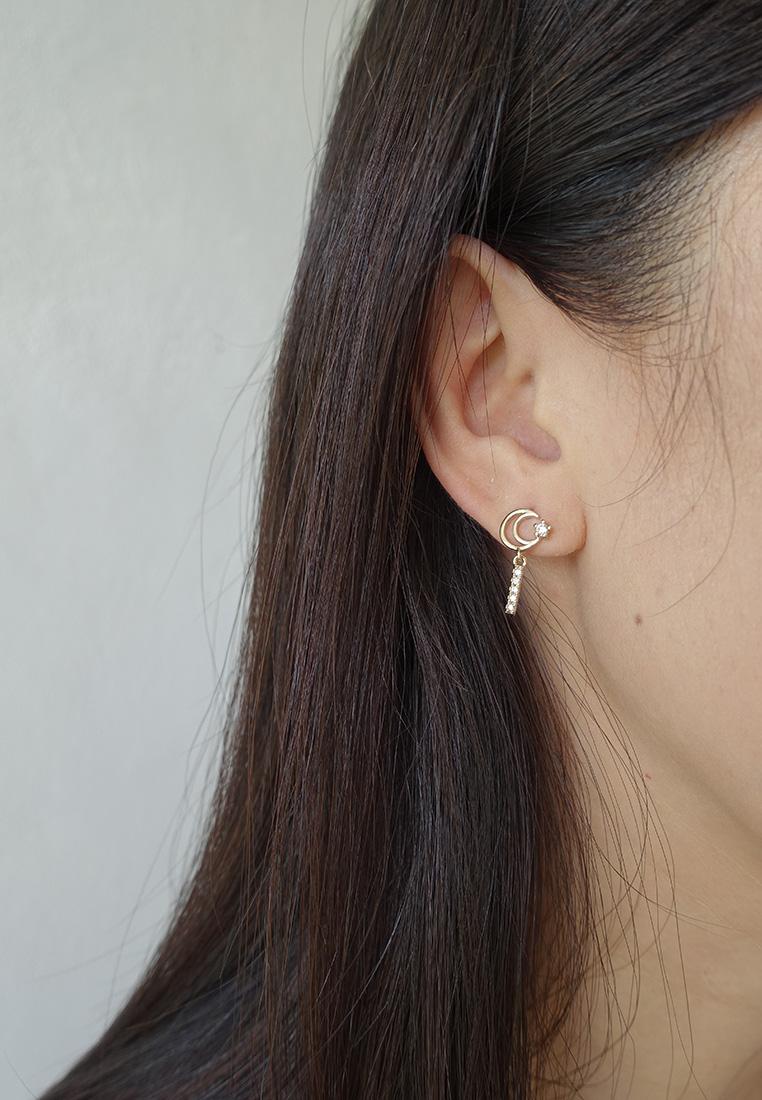 Zeus Mismatched Earrings