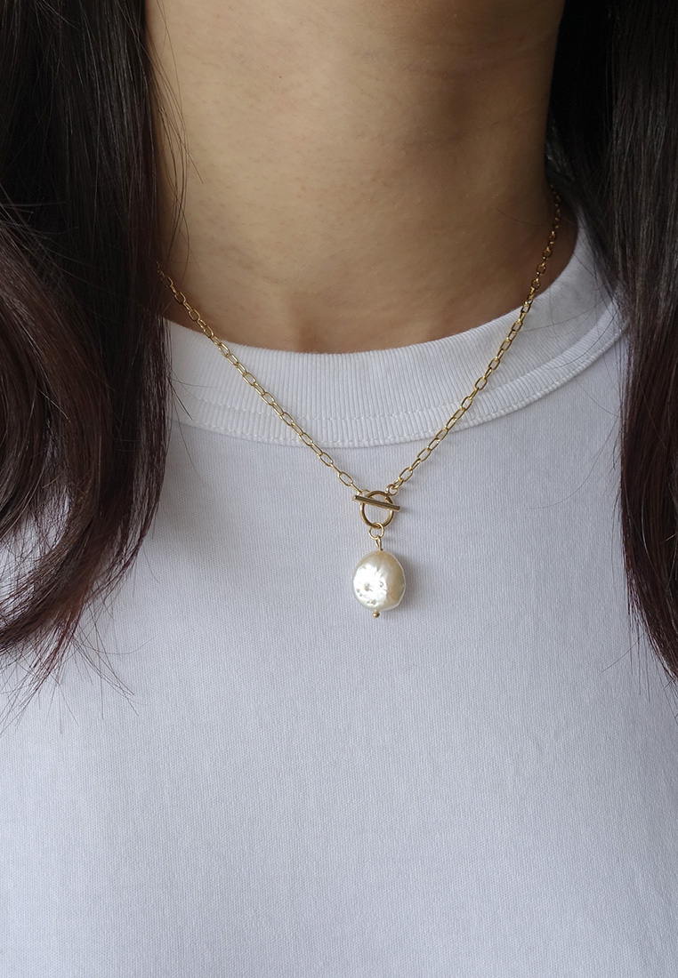 Aprille Pearl Necklace